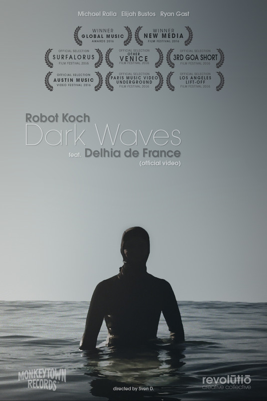 Robot Koch & Delhia de France - 'Dark Waves' (official video)